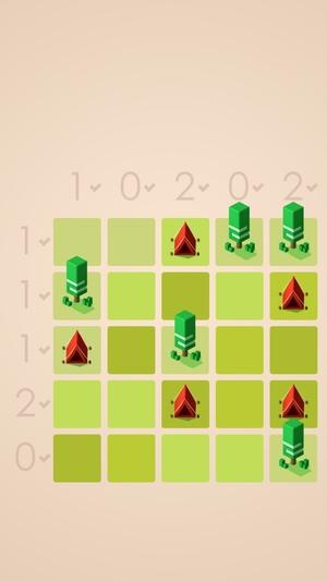 テント・アンド・ツリーパズル8