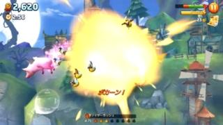 『ハングリードラゴン』-人や動物を食べ尽すアクションゲーム