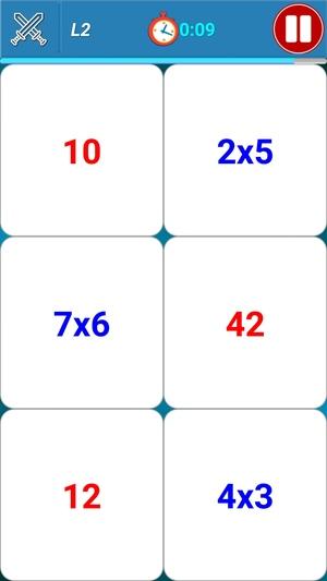 かけ算九九に挑戦8