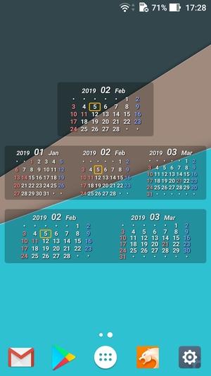 ただのカレンダー1