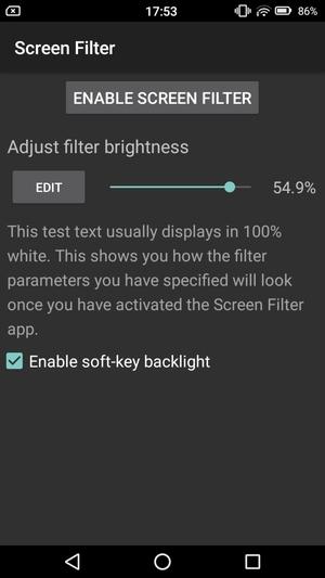 画面を暗くするアプリ4