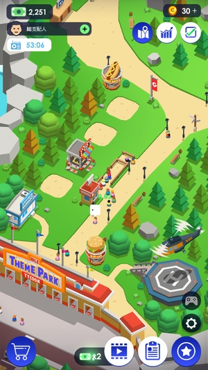 Idle Theme Park2