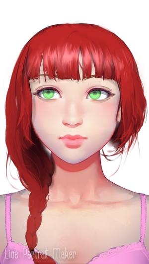 女の子作成アプリ4