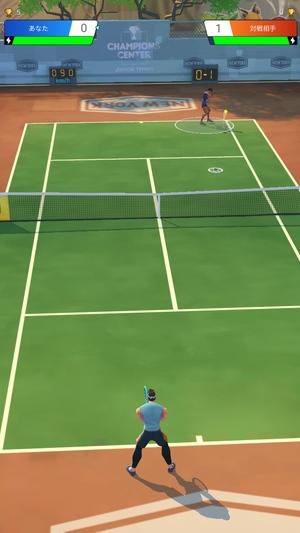 プロテニス対戦1