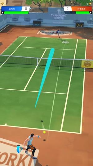 プロテニス対戦3