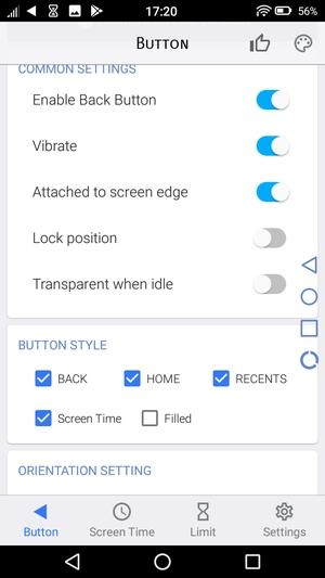 Androidホームボタンアプリ3